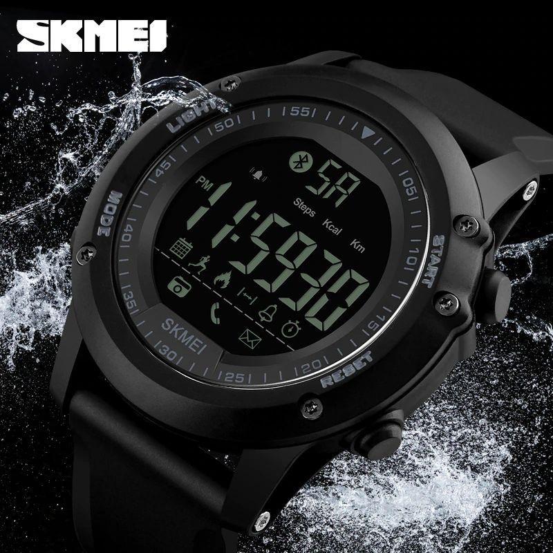 Skmei 1321 Mens Bluetooth Smart Watch (5)