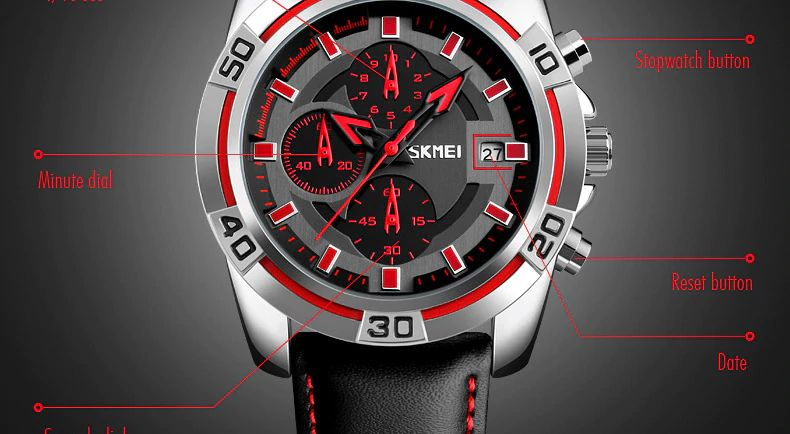 Skmei 9156 Sport Men Quartz Wrist Watch (2)