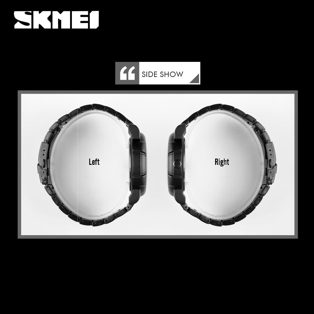 Skmei 9178 Skull Quartz Watch (5)