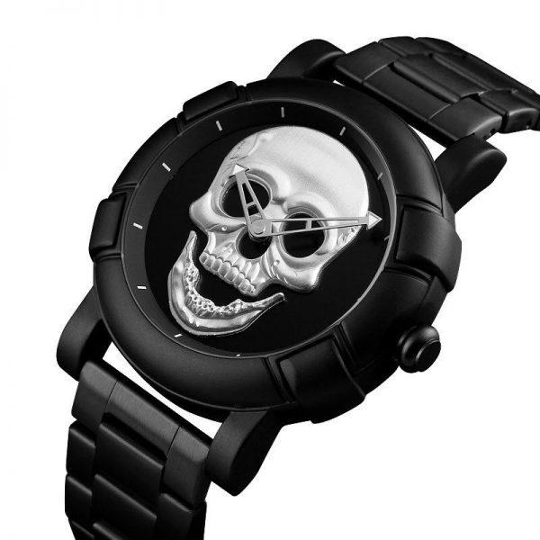 Skmei 9178 Skull Quartz Watch (6)