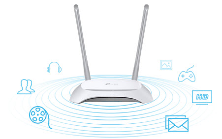 Tp Link Tl Wr850n 300mbps Wireless N Speed Router (4)