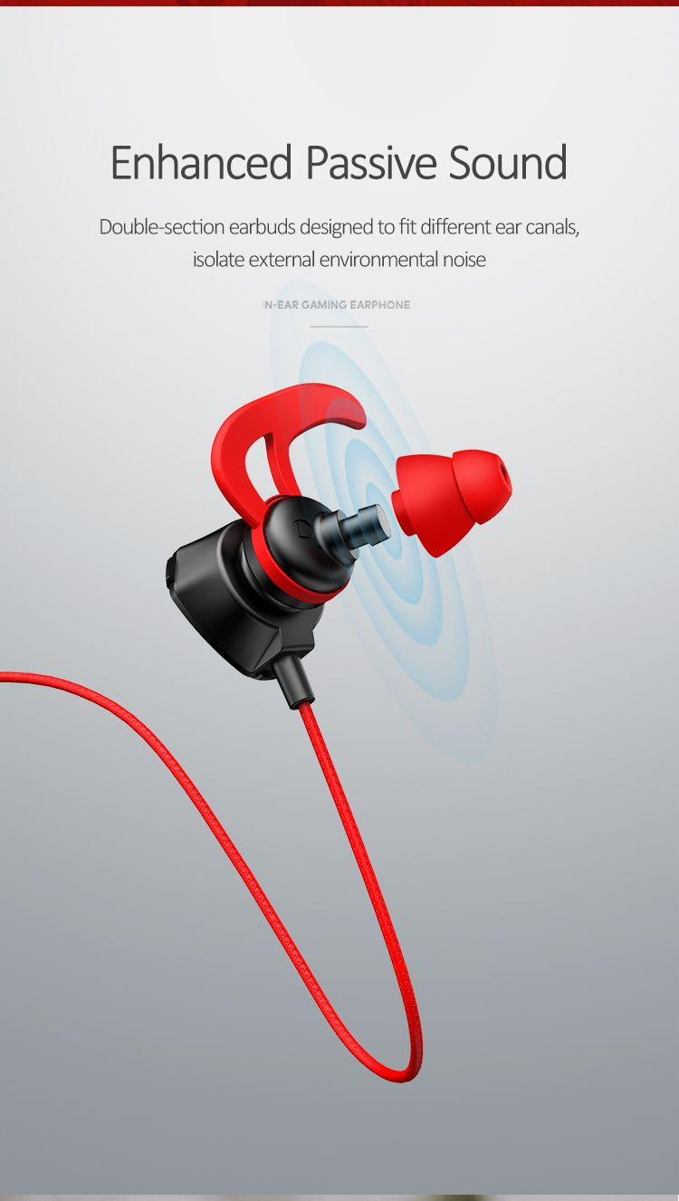 Usams Ep 27 3 5mm In Ear Headset Earphone With Microphone (1)