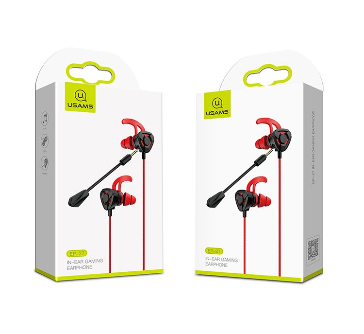 Usams Ep 27 3 5mm In Ear Headset Earphone With Microphone (10)