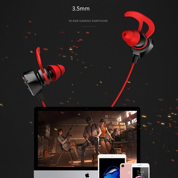 Usams Ep 27 3 5mm In Ear Headset Earphone With Microphone (2)