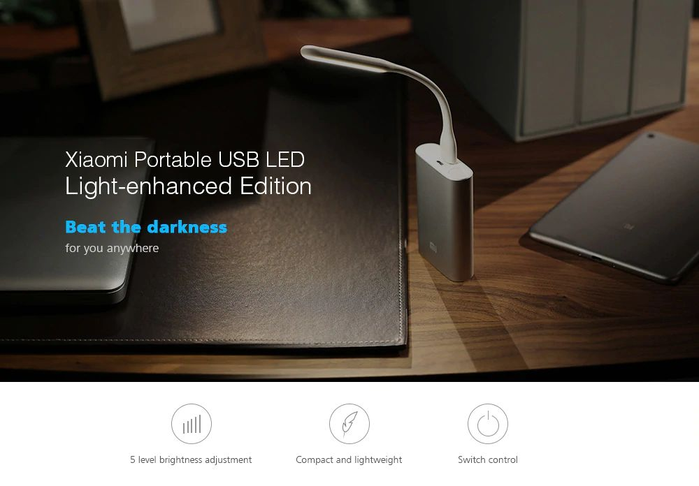 Xiaomi Led Light Enhanced Version With Usb (2)