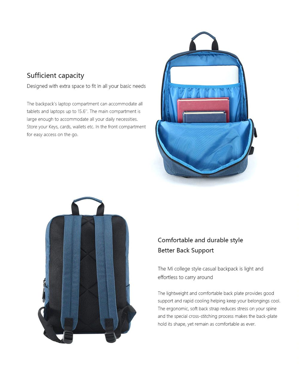 Xiaomi Mi Casual Backpack 19l (2)