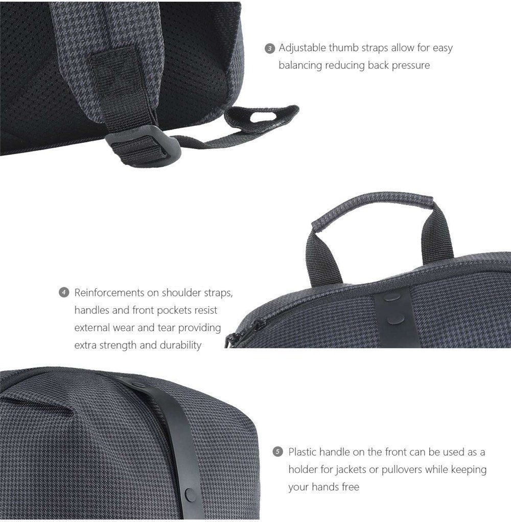 Xiaomi Mi Casual Backpack 19l (8)