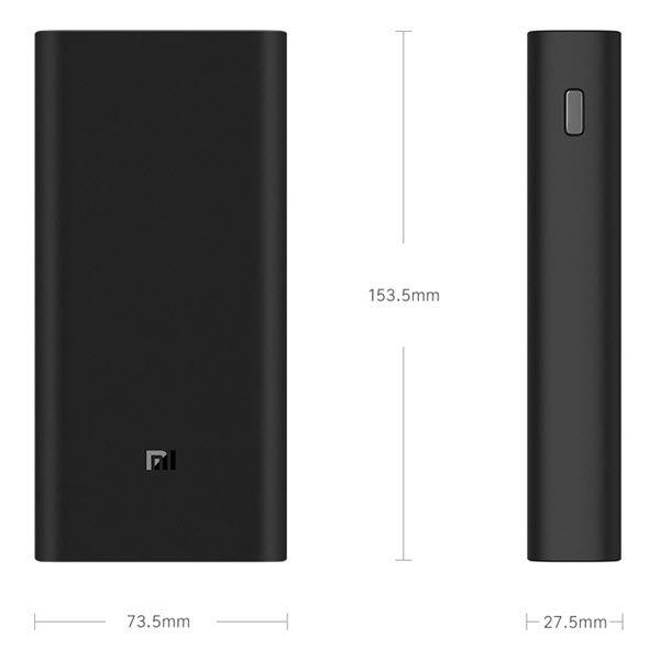 Xiaomi Power Bank 3 Pro 20000mah Usb C Qc 3 0 Fast Charge Power Bank (2)