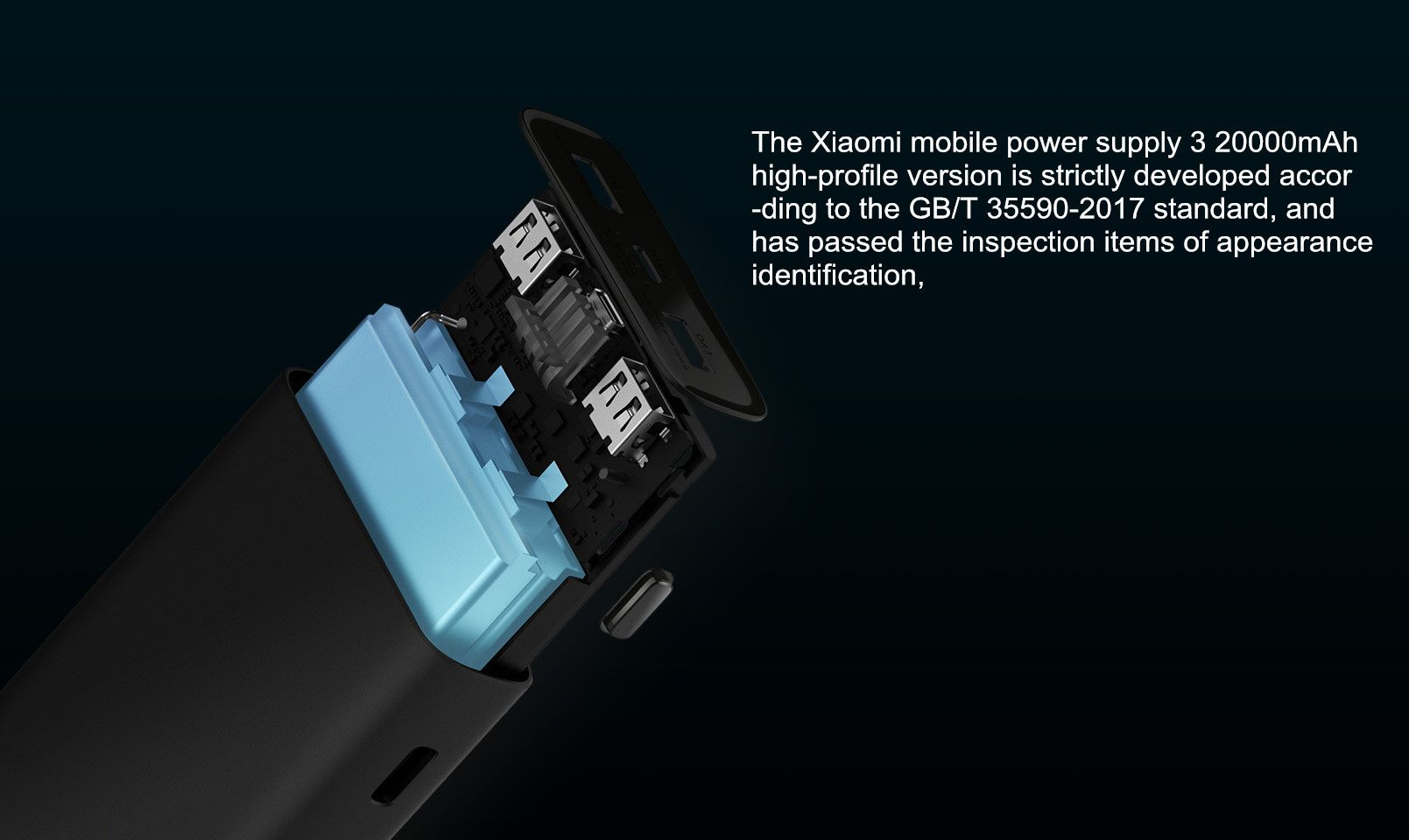 Xiaomi Power Bank 3 Pro 20000mah Usb C Qc 3 0 Fast Charge Power Bank (3)