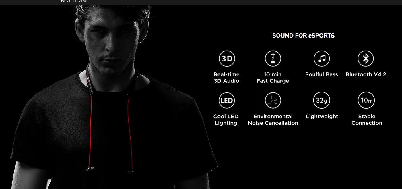 1more E1020bt Spearhead Vr In Ear Gaming Earphone (1)