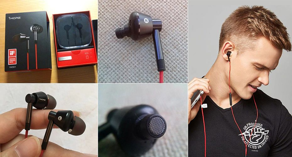 1more Single Driver In Ear Earphone With Mic 1m301 (8)