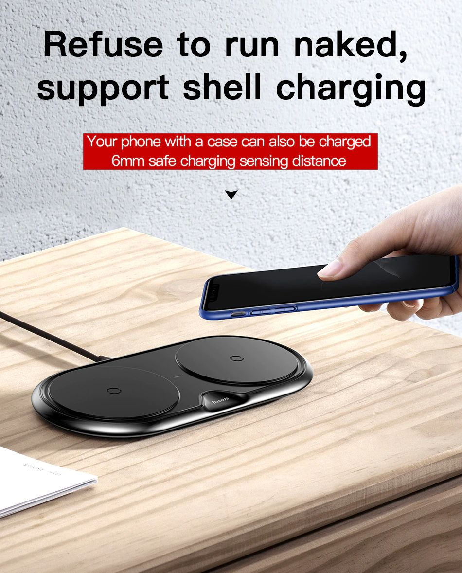 Baseus 10w Dual Seat Qi Wireless Charging Pad (18)