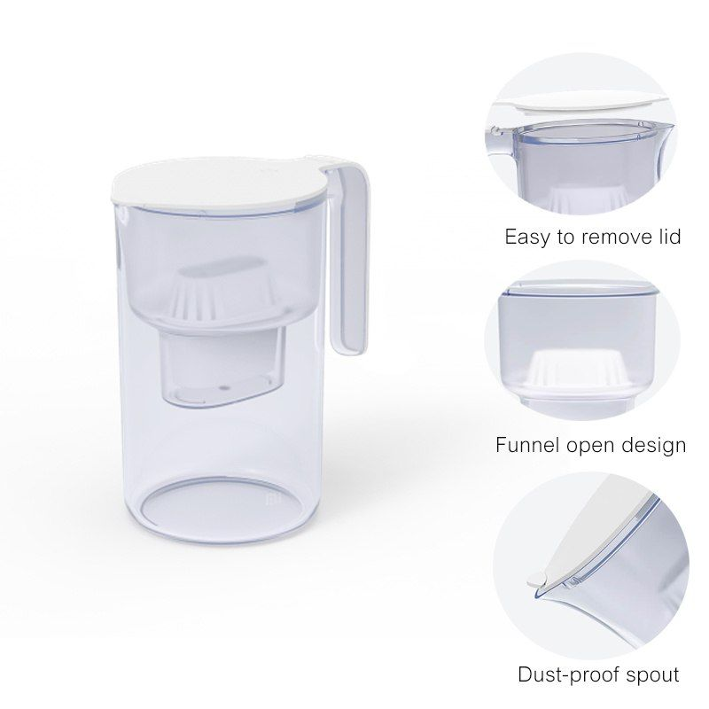 Xiaomi Mijia Filter Kettle Multiple Efficient Filtering As Material Sodium Free Water Filter For Home With (5)