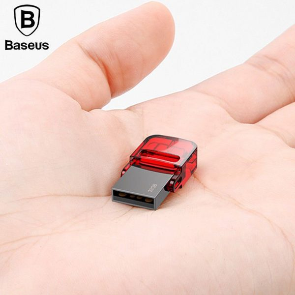Baseus 32gb 480mbps Red Hat Type C Usb Flash Disk (5)