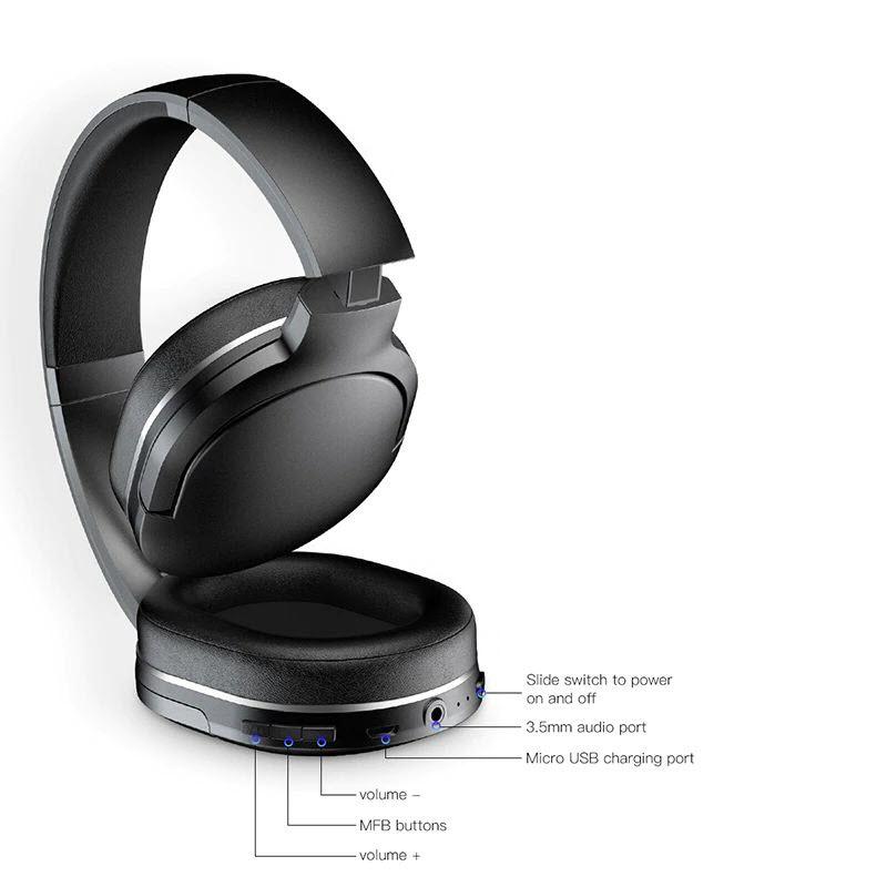 Baseus D02 Bluetooth 5 0 Wireless Headphone (4)