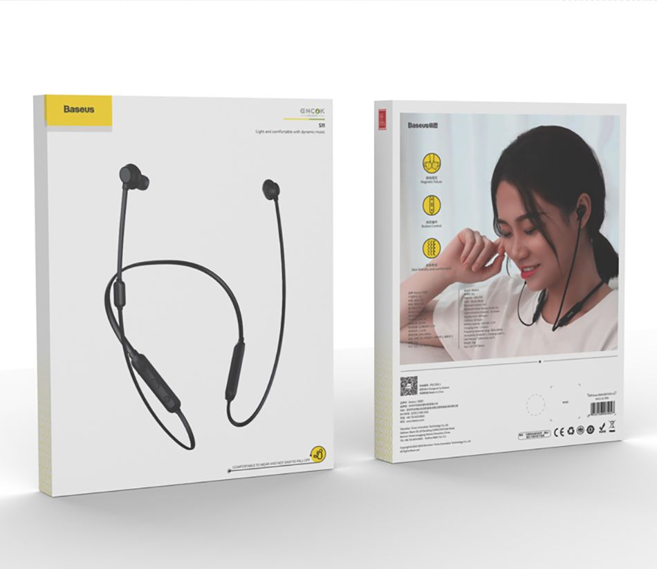 Baseus Encok S11 Neckband In Ear Bluetooth Sports Earphone With Mic (21)