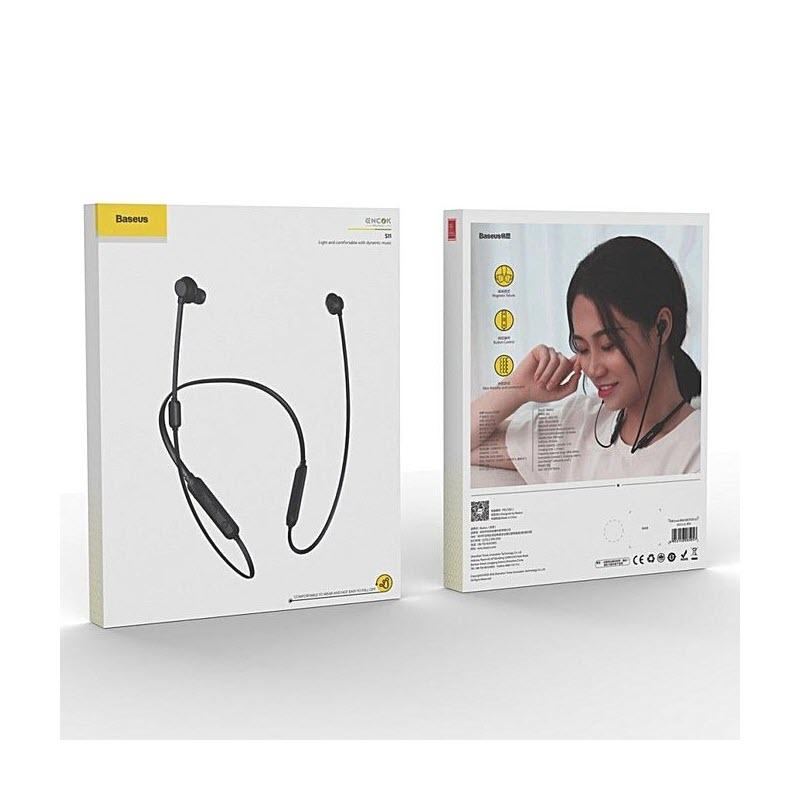 Baseus Encok S11 Neckband In Ear Bluetooth Sports Earphone With Mic (3)