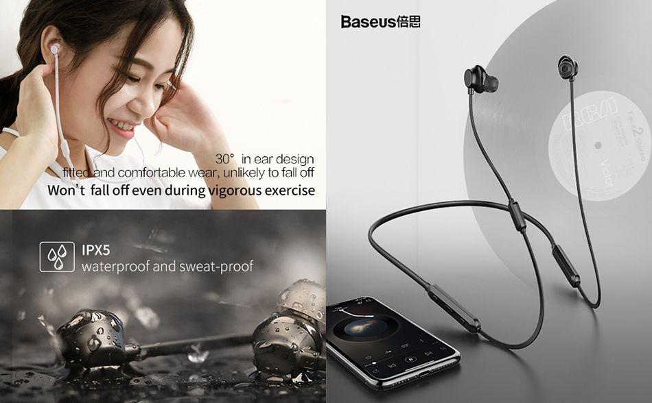 Baseus Encok S11 Neckband In Ear Bluetooth Sports Earphone With Mic (5)