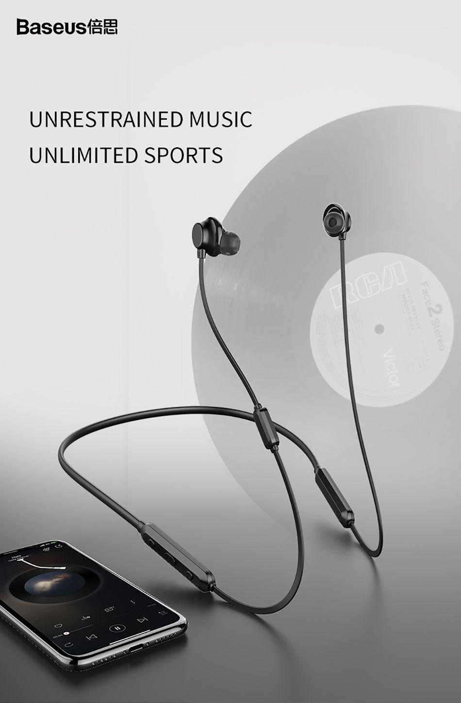Baseus Encok S11 Neckband In Ear Bluetooth Sports Earphone With Mic (6)