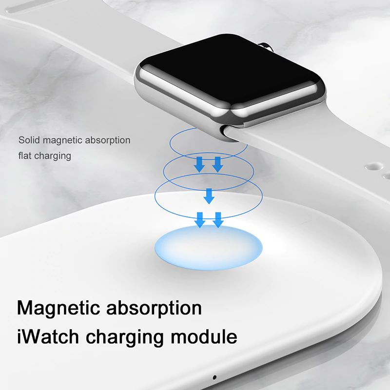 Baseus Smart 2 In 1 Wireless Qi Charger For Iphone Apple Watch (14)