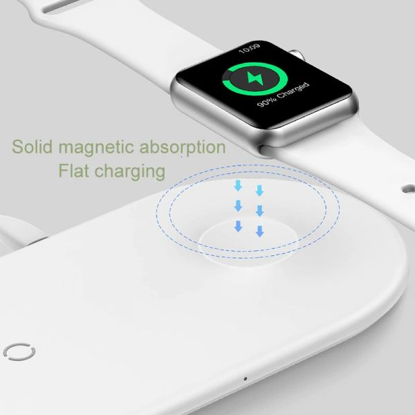 Baseus Smart 2 In 1 Wireless Qi Charger For Iphone Apple Watch (19)