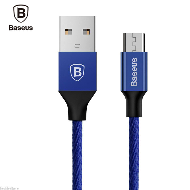 Baseus Yiven Micro Usb Data Charging Braided Cable (12)