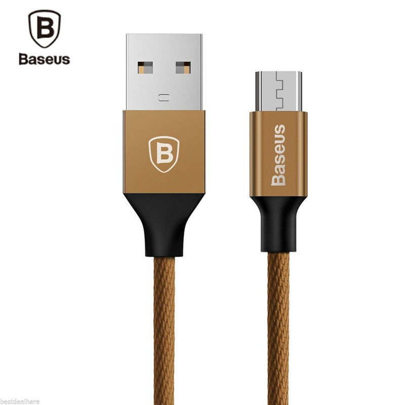 Baseus Yiven Micro Usb Data Charging Braided Cable (3)