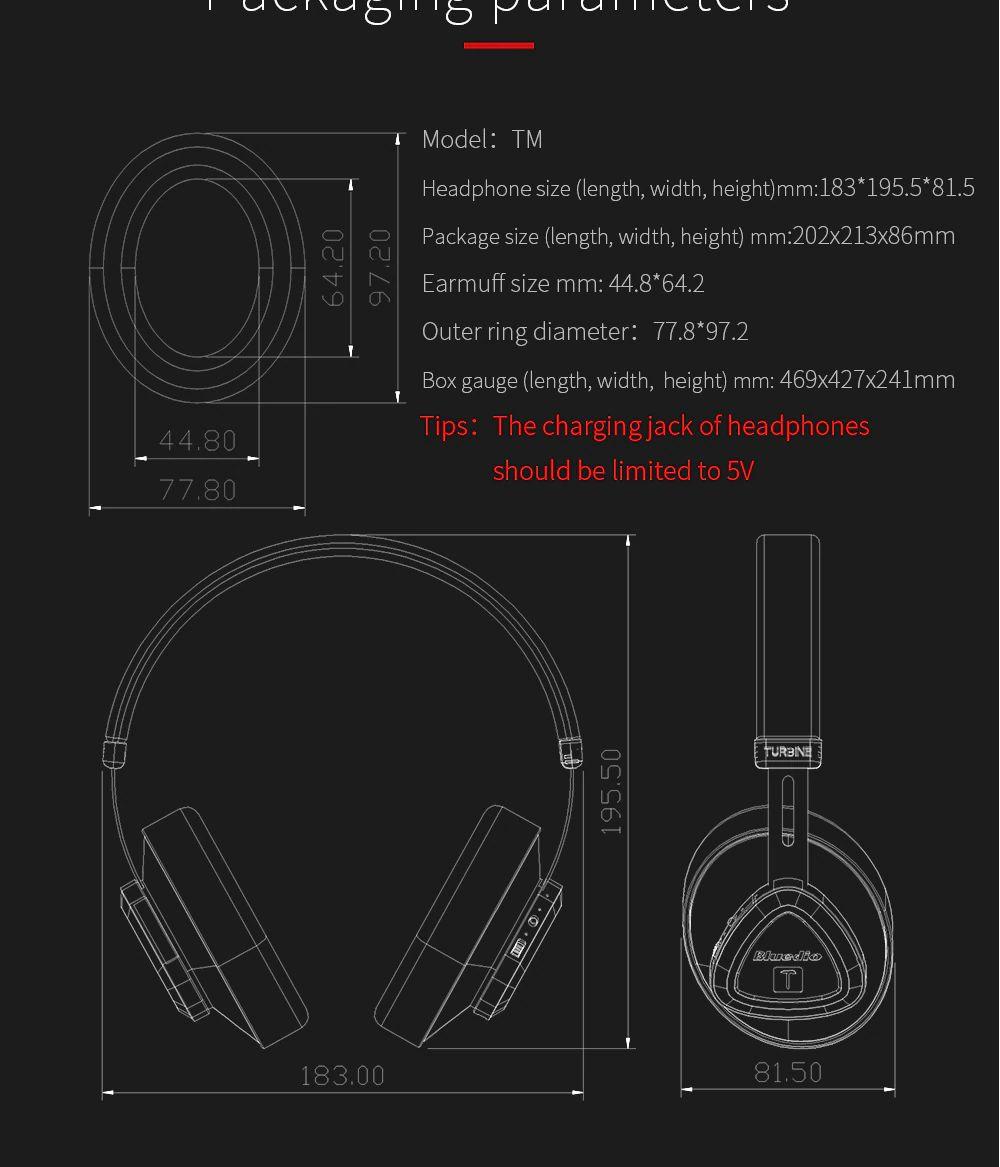 Bluedio Tm Wireless Bluetooth Headset Stereo Headphone (4)