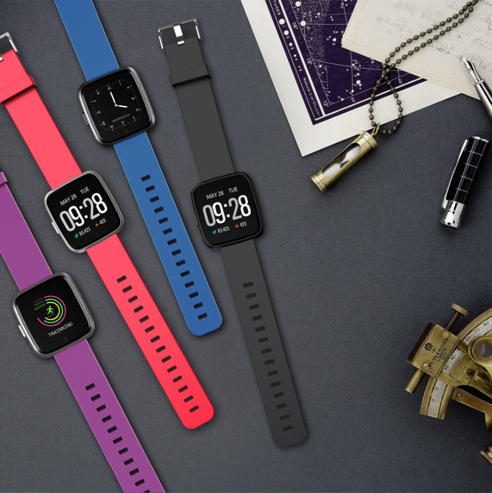 Huawise Y7 Smartwatch With Silicone Strap (10)