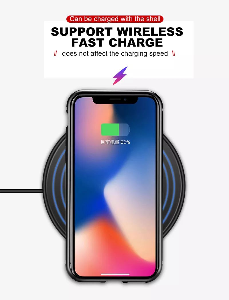 Magnetic Adsorption Case For Iphone X (2)