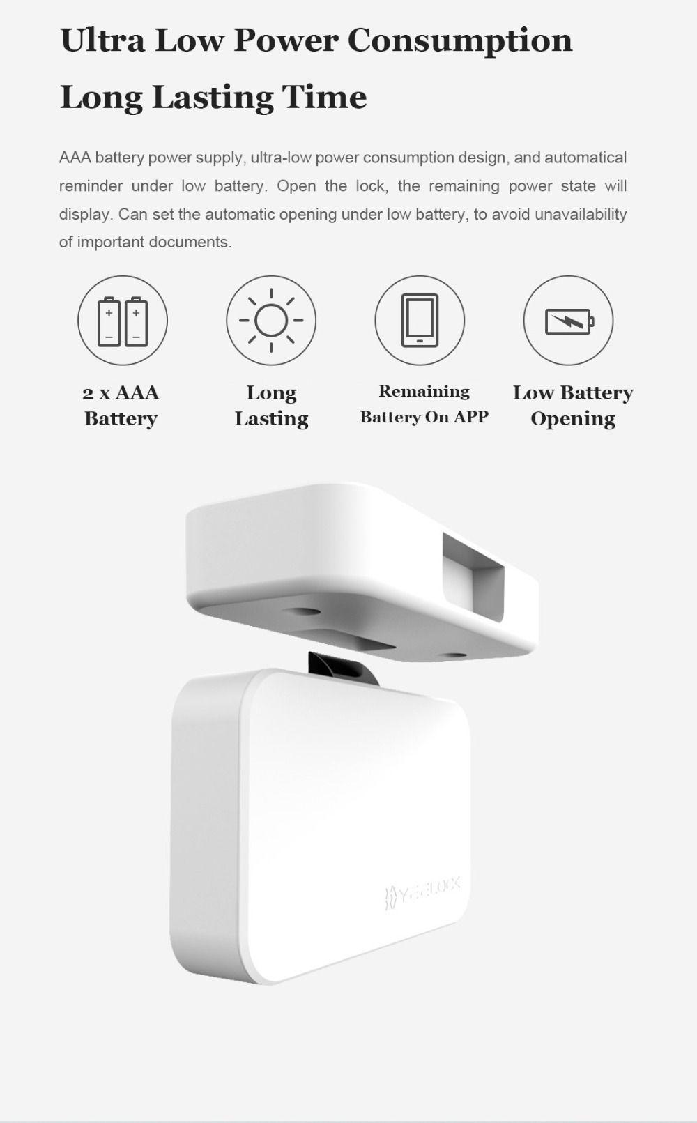 Mi Yeelock Smart Bluetooth Drawer Privacy Lock (10)