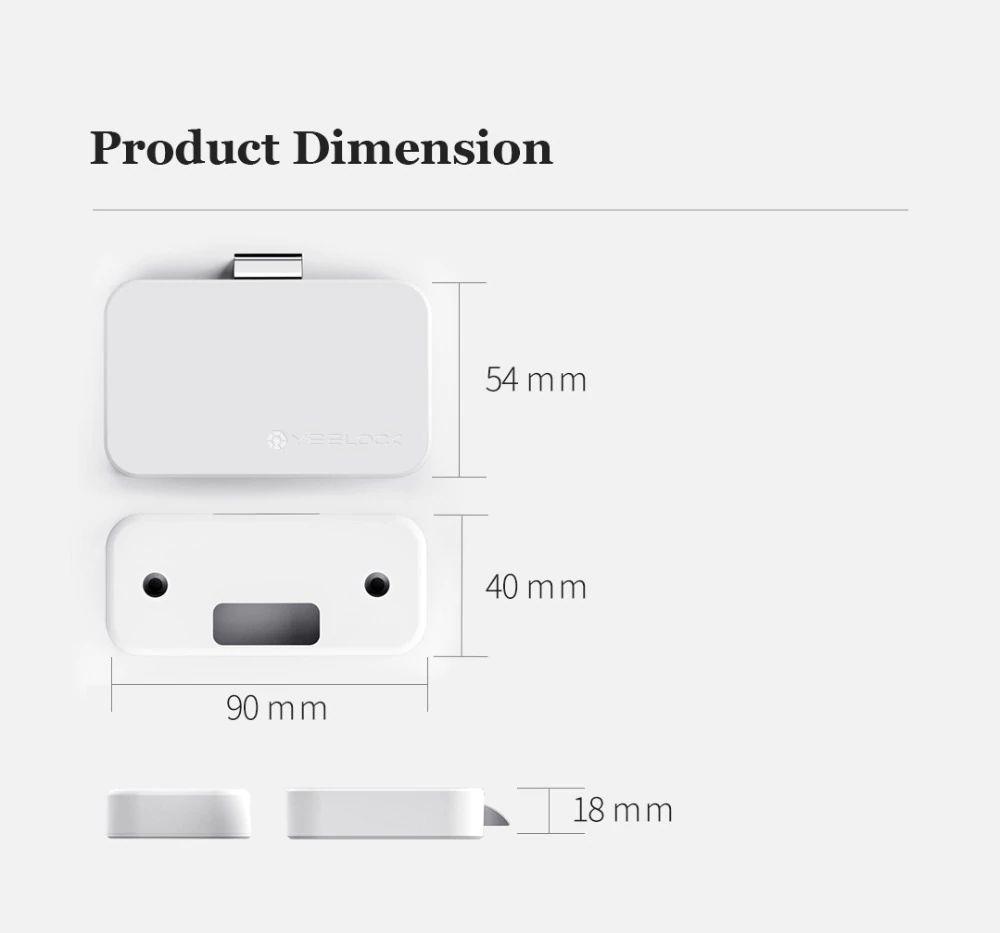 Mi Yeelock Smart Bluetooth Drawer Privacy Lock (9)