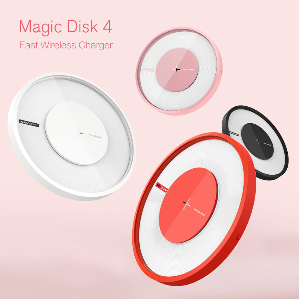 Nillkin Qi Wireless Charger Magic Disk 4 Fast Charge (1)
