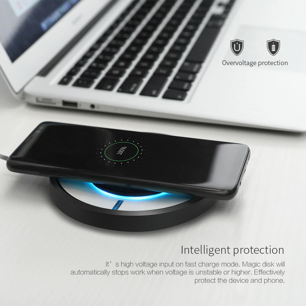 Nillkin Qi Wireless Charger Magic Disk 4 Fast Charge (8)