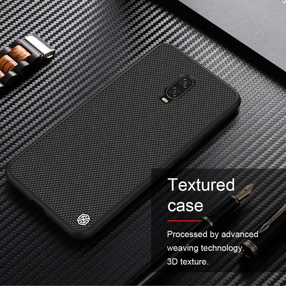 Nillkin Textured Nylon Fiber Case For Oneplus 6t (4)