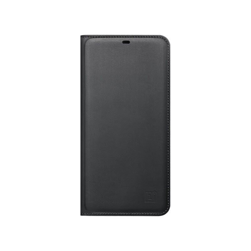 Official Oneplus 6 Flip Cover Black (3)