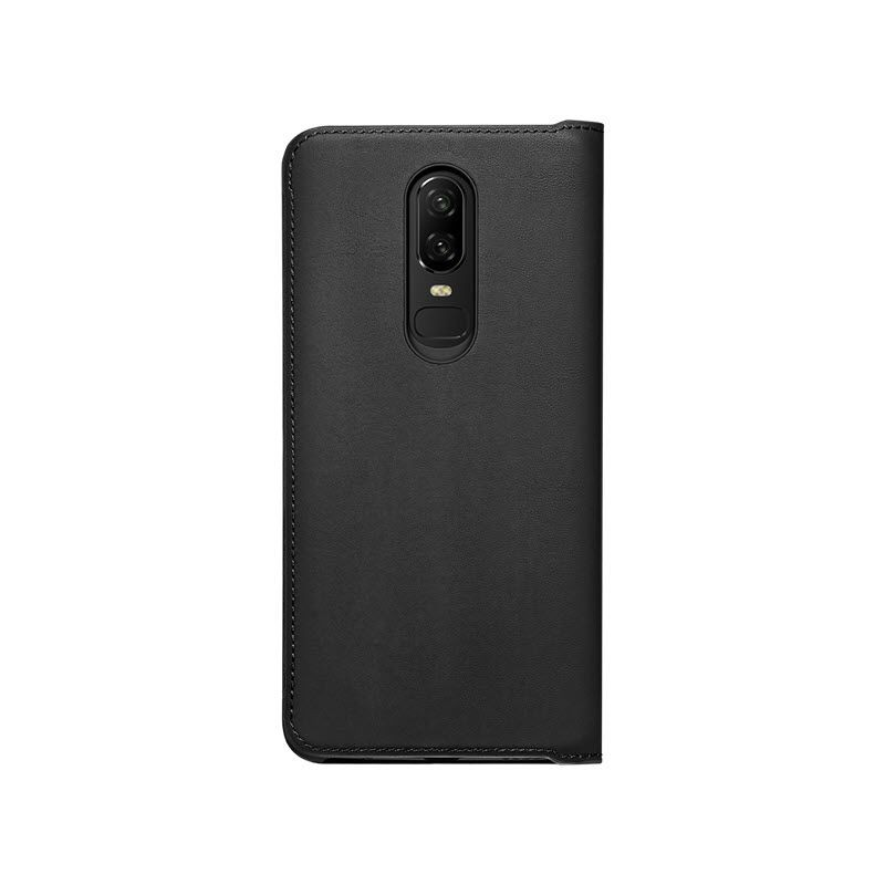 Official Oneplus 6 Flip Cover Black (6)