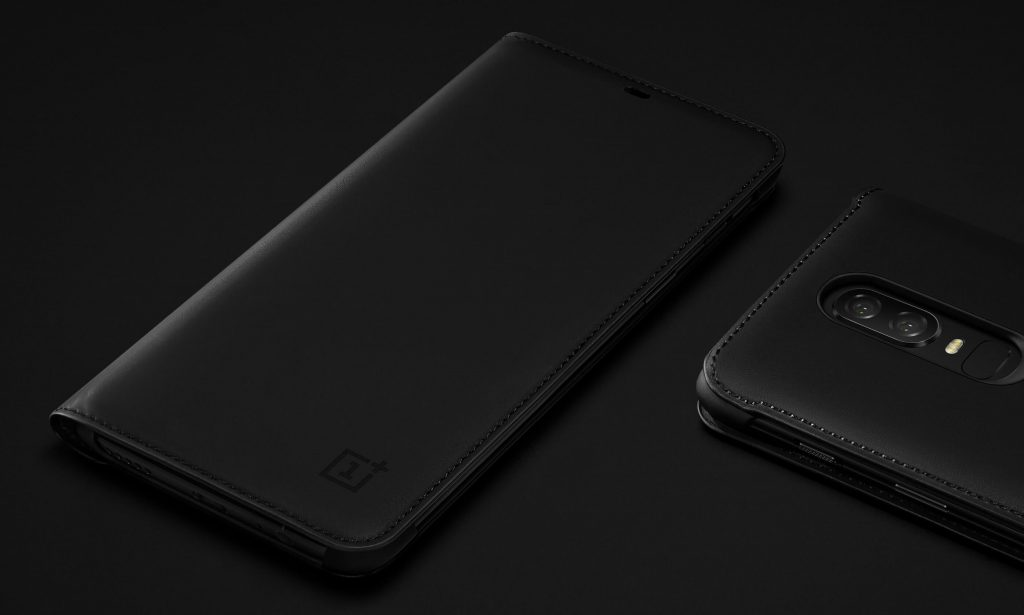 Official Oneplus 6 Flip Cover Black (7)