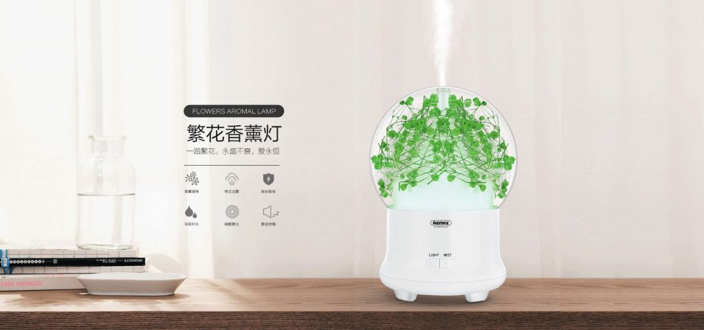 Remax Rt A700 Flowers Aroma Lamp Humidifier (1)