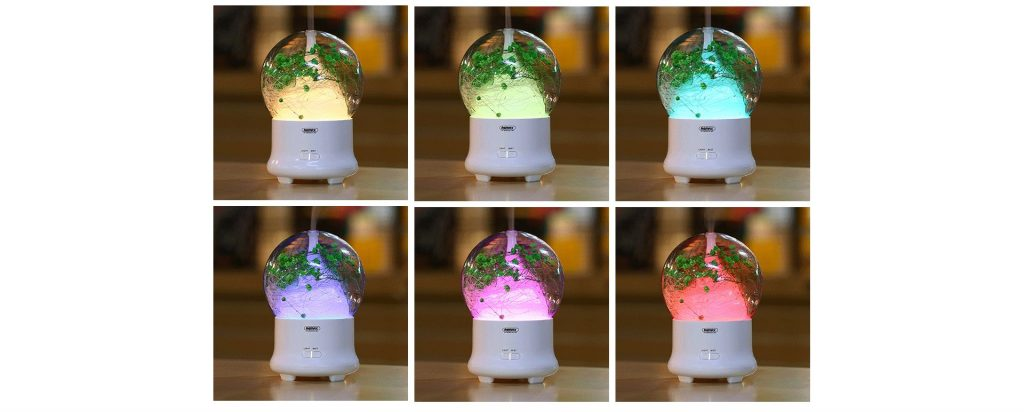 Remax Rt A700 Flowers Aroma Lamp Humidifier (6)