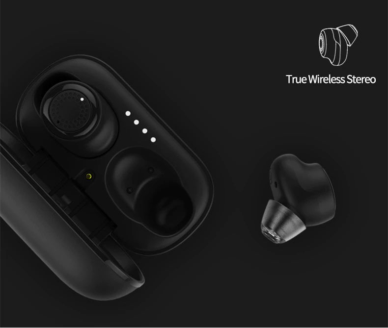 Remax Tws 2 Wireless Earbuds With Charging Case (10)