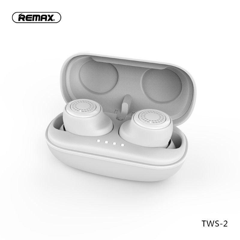 Remax Tws 2 Wireless Earbuds With Charging Case (6)