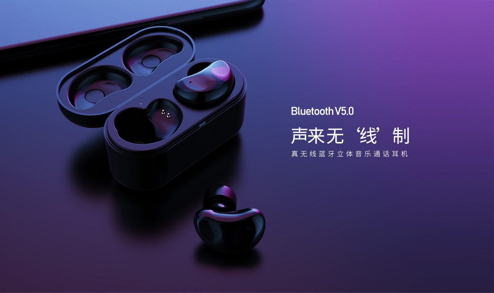 Remax Tws 5 Wireless Bluetooth Twins Earphone With Charging Box (1)