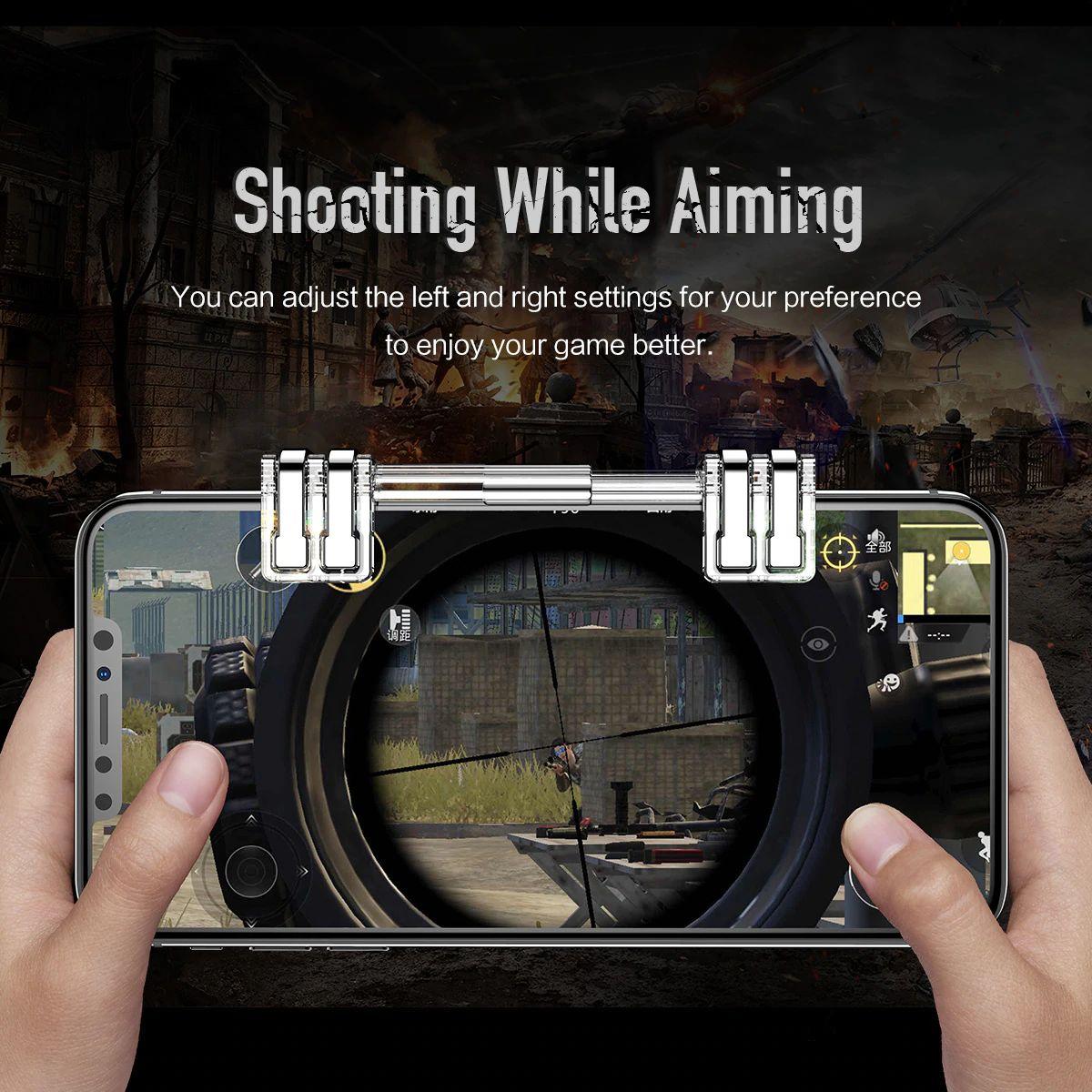 Rock Retractable Shooting Game Controller (13)