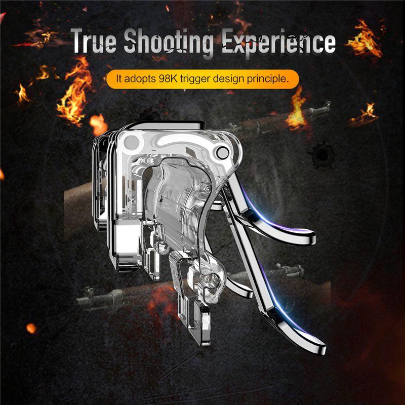 Rock Retractable Shooting Game Controller (2)