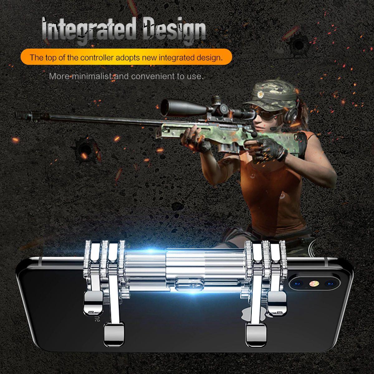 Rock Retractable Shooting Game Controller (7)