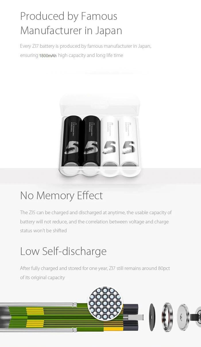 Xiaomi Mi Aa Ni Mh Rechargeable Batteries (3)