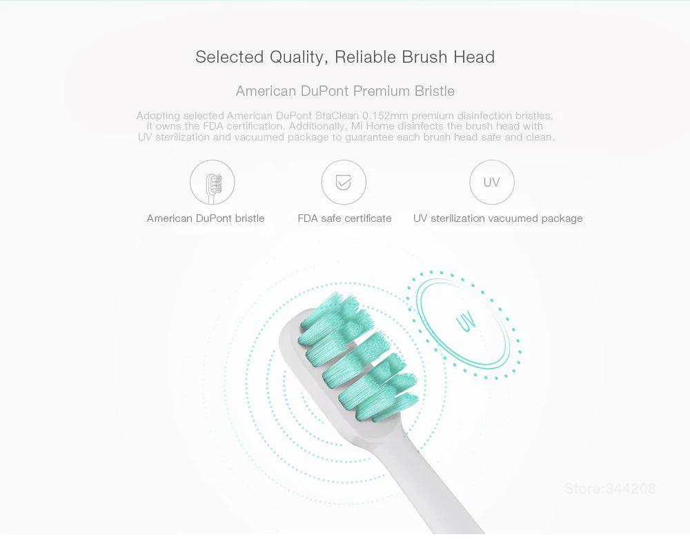 Xiaomi Mi Electric Toothbrush Heads 3 Pcs (2)