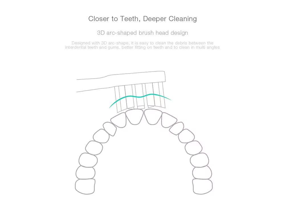 Xiaomi Mi Electric Toothbrush Heads 3 Pcs (3)