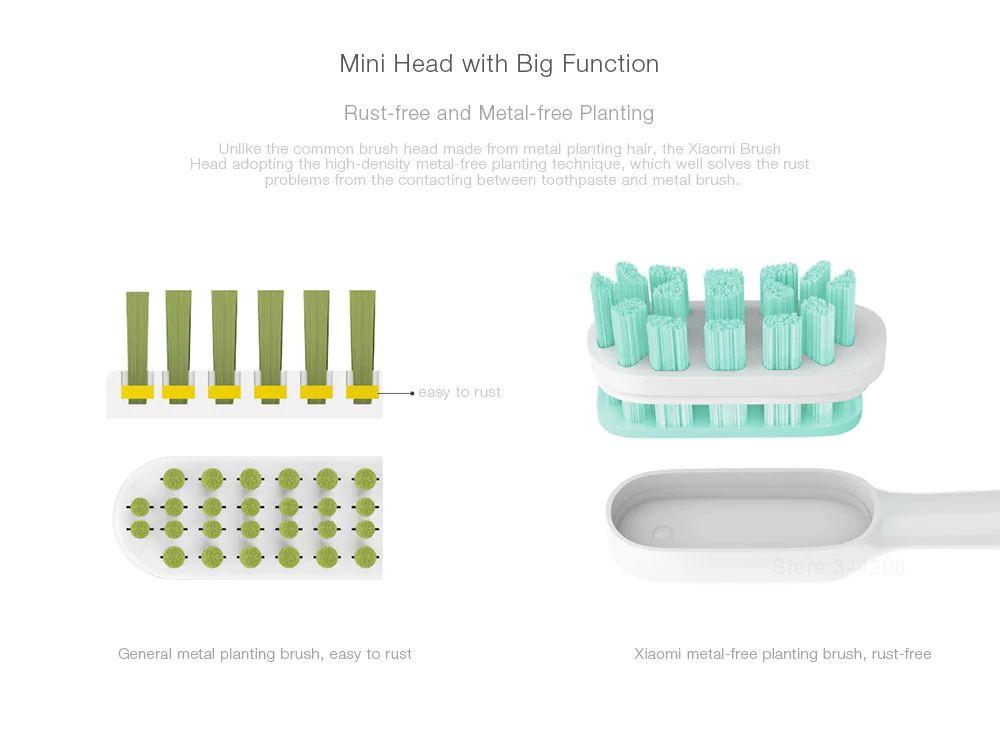 Xiaomi Mi Electric Toothbrush Heads 3 Pcs (6)